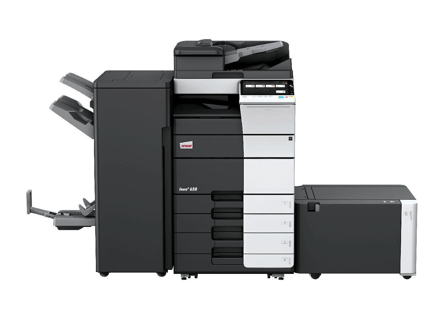 Photocopieur A3 Couleur Develop Ineo 658 Les Bureauticiens