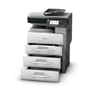 Imprimante-Multifonction-noir-et-blanc-ricoh-mp301sp-mp301spf-bac-supplementaires